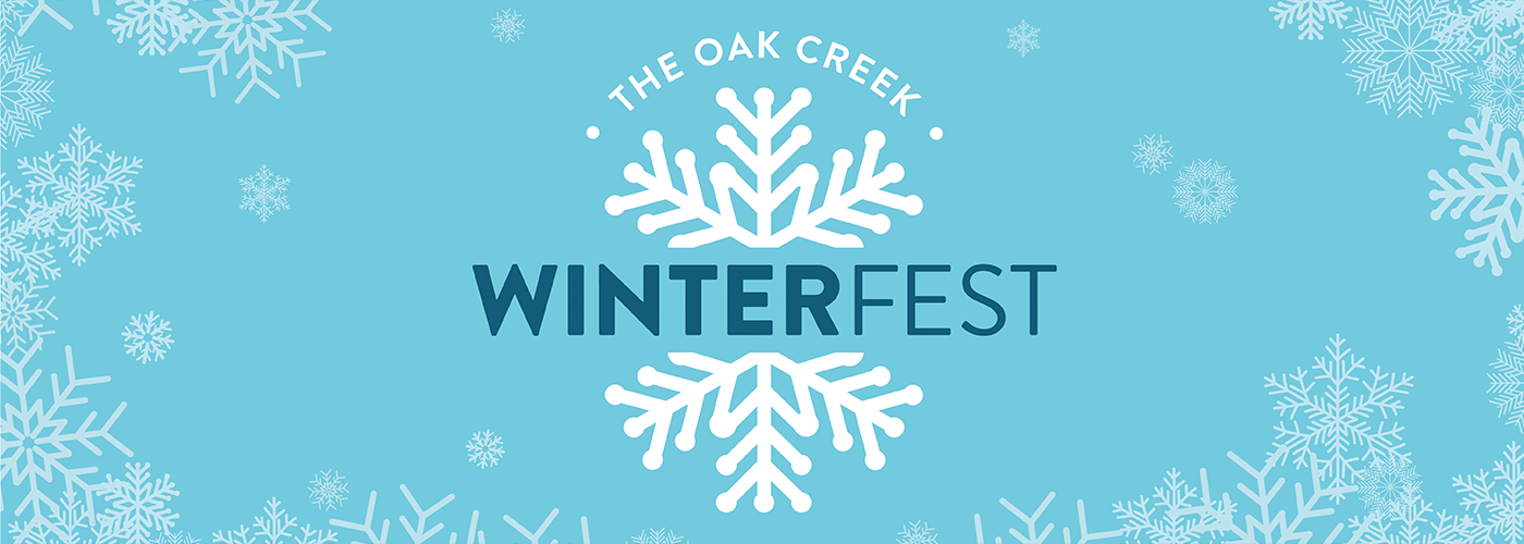 WinterFest logo and snowflake banner