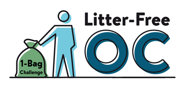 Litter collection Icon - Litter-Free OC initiative