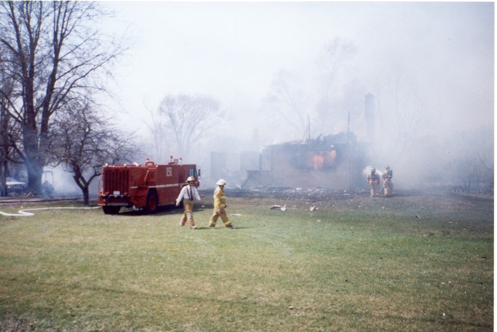 2003 Tax Day House Fire