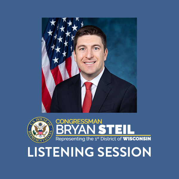 Congressman Steil to Hold Listening Session at Civic Center