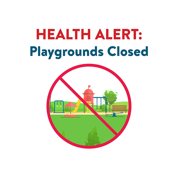 News Icon - Playgrounds Closed