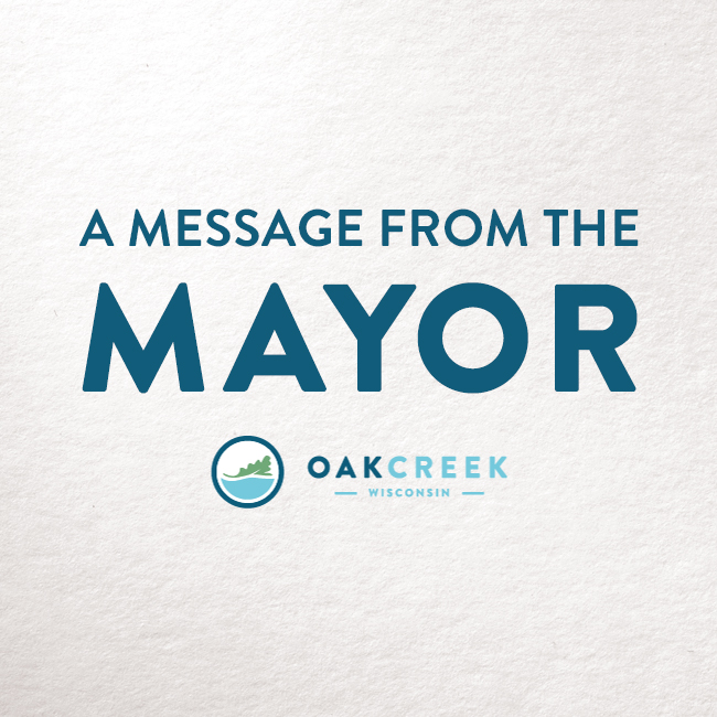 News Icon - Message from the Mayor