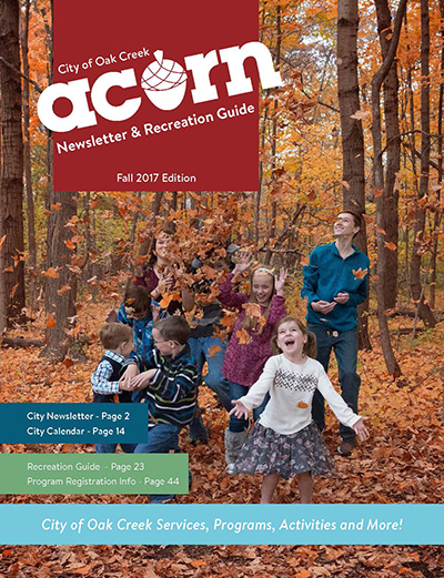 Registration for Fall Recreation Activities Now Open!