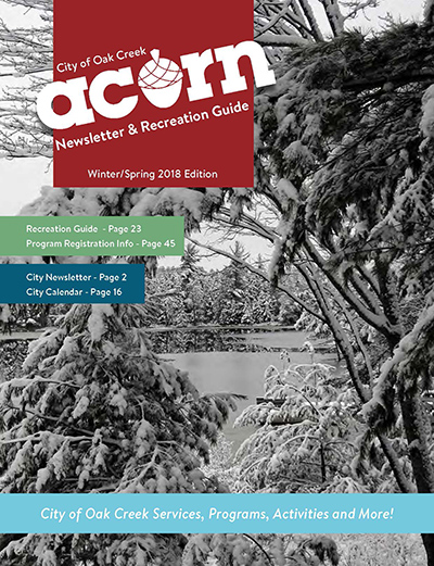Winter Spring 2018 Acorn Cover